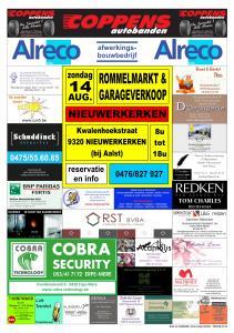 Affiche Rommelmarkt Nieuwerkerken 2016 FB