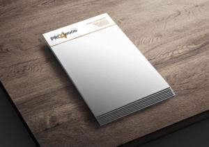 Pro 4 wood briefpapier